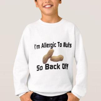 ナットにアレルギー スウェットシャツ