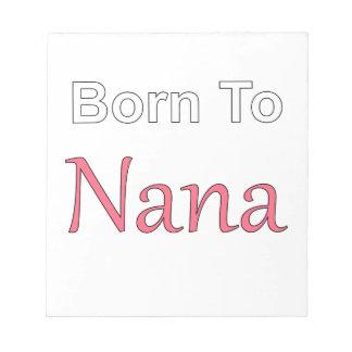 ナナに生まれて下さい ノートパッド