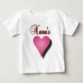ナナのハート ベビーTシャツ