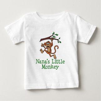 ナナの小さい猿 ベビーTシャツ