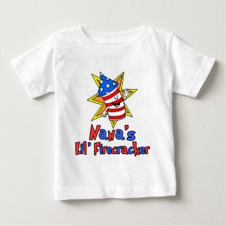 ナナの少し爆竹 ベビーTシャツ