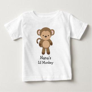 ナナのLil猿のTシャツ ベビーTシャツ