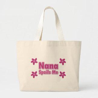 ナナは私をだめにします ラージトートバッグ