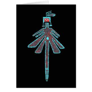 ナバホー人のトンボ、昆虫の神話 カード