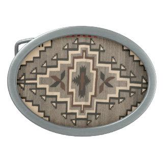 ナバホー人毛布のデザインのベルトの留め金 卵形バックル