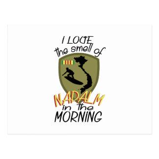 ナパームの臭い ポストカード