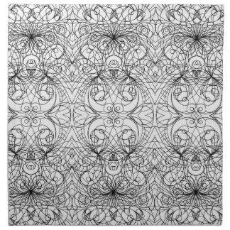 ナプキンのインドのスタイル ナプキンクロス