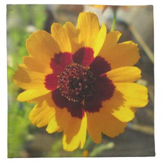 ナプキン-布-総括的な花 ナプキンクロス