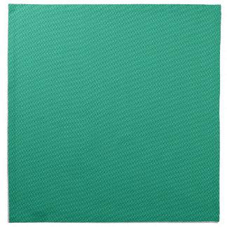 ナプキン-明白なターコイズ ナプキンクロス