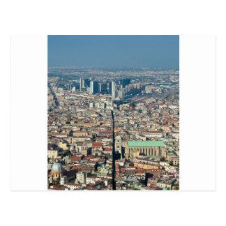ナポリのパノラマ ポストカード