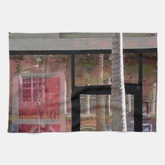 ナポリの反射 キッチンタオル