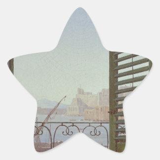 ナポリの湾の眺めのバルコニー部屋 星シール