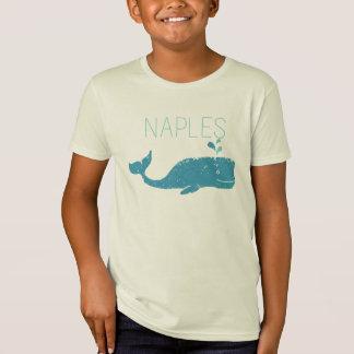 ナポリフロリダのクジラ Tシャツ