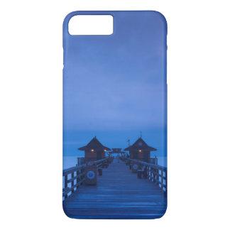 ナポリ桟橋、夜明け iPhone 8 PLUS/7 PLUSケース