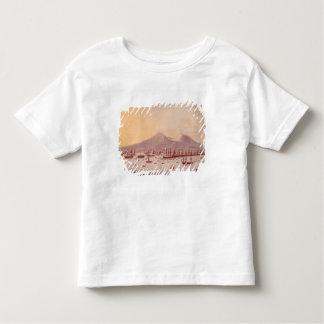 ナポリ1798年の湾の眺め トドラーTシャツ