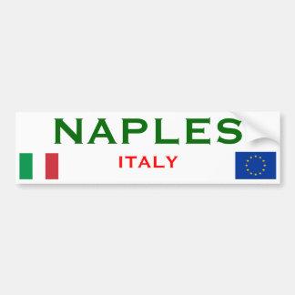 ナポリ、イタリアのバンパーステッカー バンパーステッカー