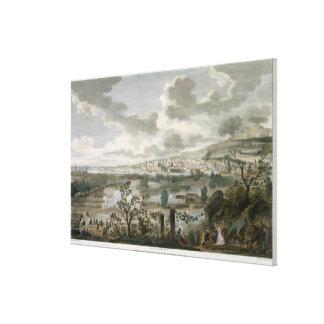 ナポリ、Pluviose 2年7 (23 Januの捕獲 キャンバスプリント