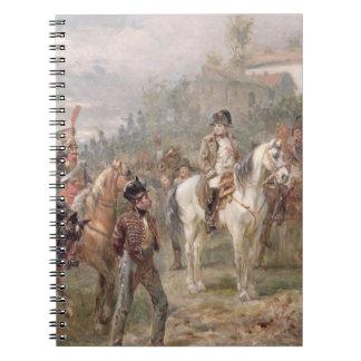 ナポレオンおよび彼の軍隊(パネル) (組の油の12 ノートブック