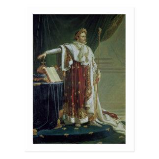 ナポレオンのポートレート彼の即位ローブのI、18 ポストカード