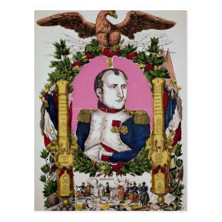 ナポレオンのポートレート戦いのIの ポストカード