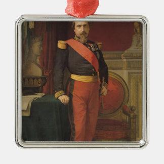 ナポレオンのポートレートIII 1862年 メタルオーナメント