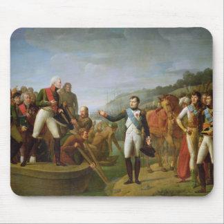 ナポレオンの告別IおよびアレキサンダーI マウスパッド