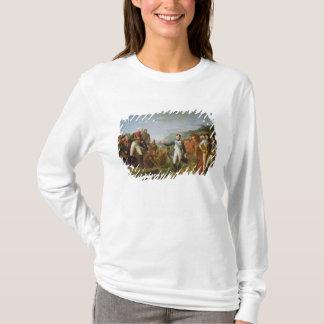 ナポレオンの告別IおよびアレキサンダーI Tシャツ
