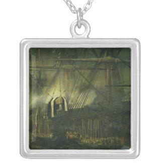 ナポレオンの灰の郵送物 シルバープレートネックレス