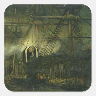 ナポレオンの灰の郵送物 スクエアシール
