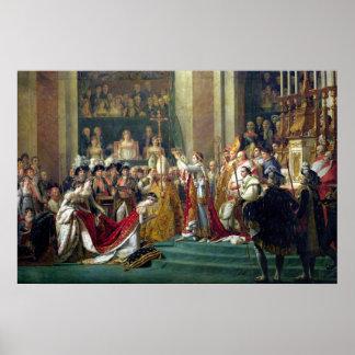 ナポレオンの神聖化およびJosephine ポスター