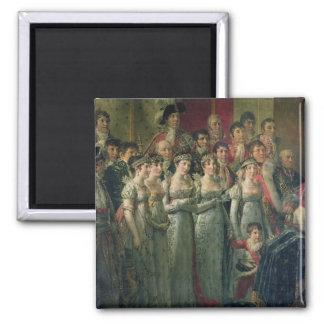 ナポレオンの神聖化およびJosephine マグネット
