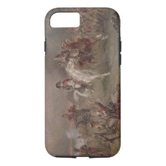 ナポレオンの退去(キャンバスの油) iPhone 8/7ケース