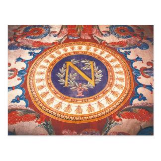 ナポレオンの「N」の敷物の詳細I ポストカード