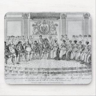 ナポレオンを描写するスケッチIおよび主権者 マウスパッド