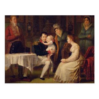ナポレオンルイーズおよびローマの王I Marie ポストカード