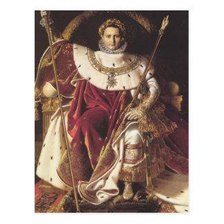 ナポレオン彼の帝国王位のI ポストカード