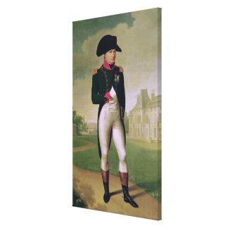 ナポレオン館de Malmaisonの前のI キャンバスプリント
