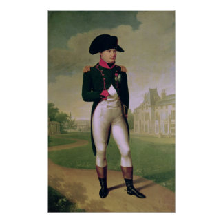 ナポレオン館de Malmaisonの前のI ポスター