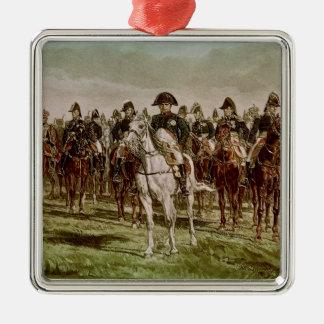 ナポレオンIおよび彼のスタッフ、c.1860 メタルオーナメント