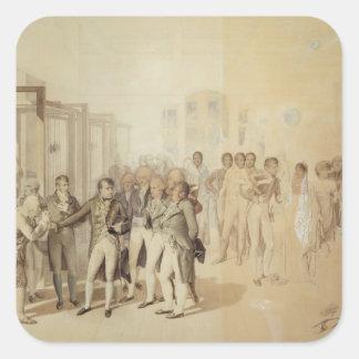 ナポレオンSeveneの兄弟を訪問するI スクエアシール