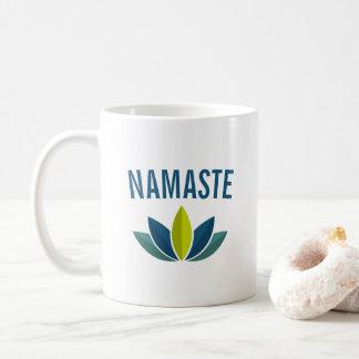 ナマステのはすの花のコーヒー コーヒーマグカップ