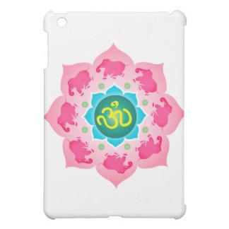 ナマステのはすの花Omのヨガ iPad Mini カバー