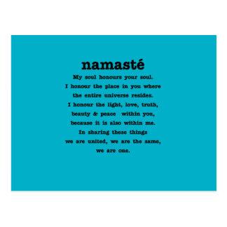 ナマステのコレクション ポストカード