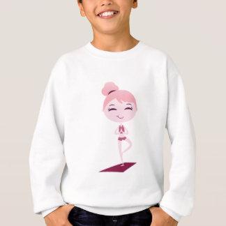 ナマステのヨーガ行者 スウェットシャツ