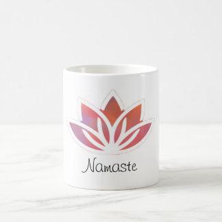 ナマステの多彩なはすマグ コーヒーマグカップ