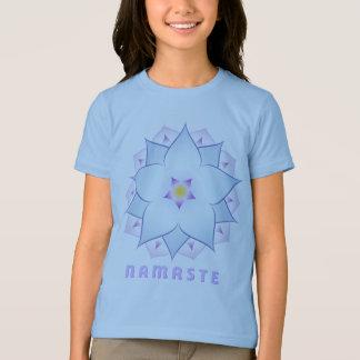 ナマステの女の子の信号器のTシャツ Tシャツ