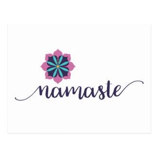 ナマステの曼荼羅 ポストカード