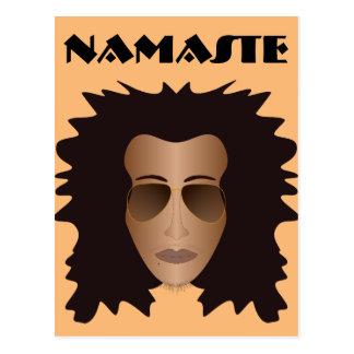 ナマステの郵便はがき ポストカード