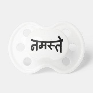 ナマステ(नमस्ते) - Devanagariの原稿 おしゃぶり