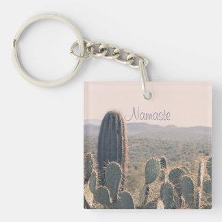 ナマステ-アリゾナのサボテン|のアクリルのキーホルダー キーホルダー
